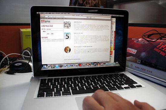 2根手指左右划动可以切换程序中的上一页与下一页