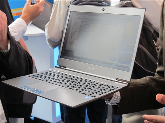 IDF:OEM巨头加入走秀 Ultrabook多图赏
