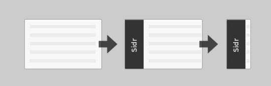 8.Sidr – Creating Facebook-Like Side Menus