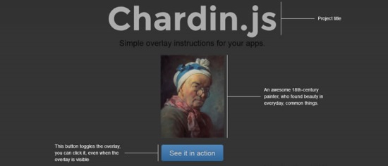 Chardin.js – Simple Overlay Instructions for Apps